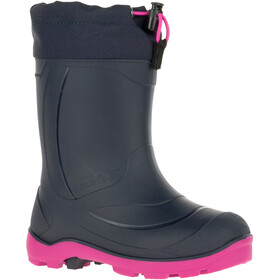 Kamik Snobuster1 Rubber Boots Youth navy magenta